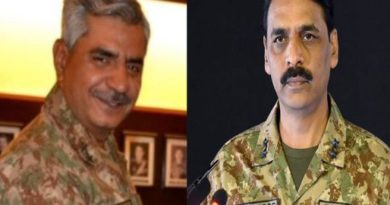 Maj Gen Babar Iftikhar replaces Asif Ghafoor as DG ISPR