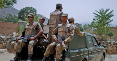 Seven terrorists have been killed during an intelligence based operation in North Waziristan.