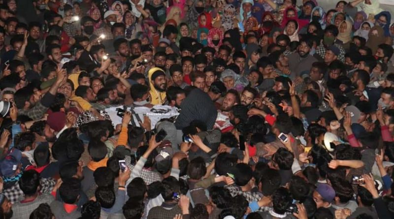 Thousands attend funeral of martyred youth in IOK